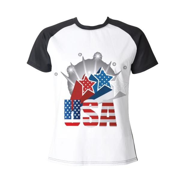 The stars Custom Women's Crew Neckone T-shirt