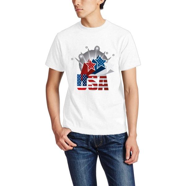 The Stars Custom Men's Crew-Neckone T-shirt