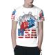 The stars Custom All Surface  Men's T-shirt