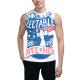 Happy Day Custom Men's Sleeveless T-shirt