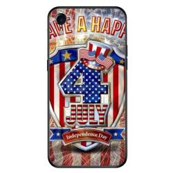 National Day holiday Custom Toughened Phone Case for iPhone Xr