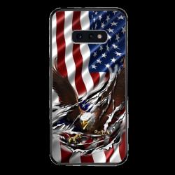 Flag eagle tear Custom Phone Case for Samsung Galaxy S10 E
