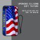 Garden Flag Custom Liquid Silicone for iPhone 7 Plus Case