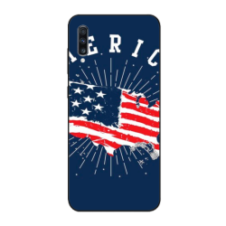 Vintage patriotic Custom Phone Case For Samsung A50