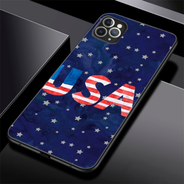 American Starry Sky Custom Phone Case for iPhone