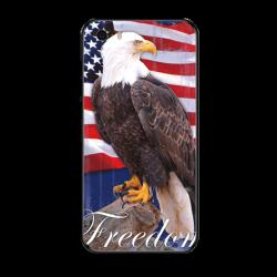 Freedom Bald Eagle Custom Toughened Phone Case For Iphone 5S