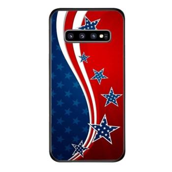 US Flag Custom Phone Case For Samsung