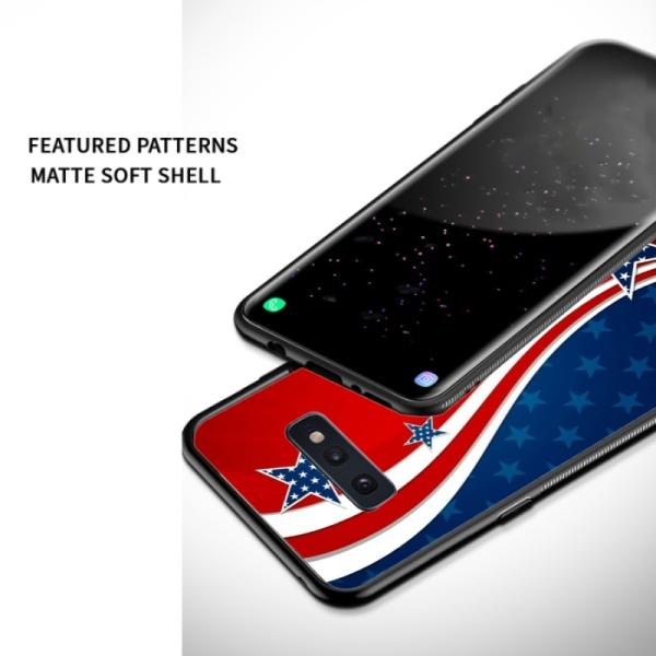 US Flag Custom Phone Case For Samsung Galaxy S10 E