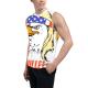 Eagle Mullet Custom Men's Sleeveless T-shirt