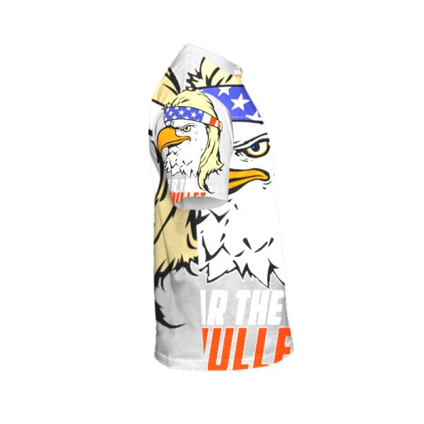 Eagle Mullet Custom All Surface  Men's T-shirt