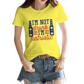 Patriotic Custom Women's T-shirt