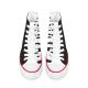 Zebra Custom High Top Canvas Shoes
